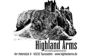 Highland Arms Logo