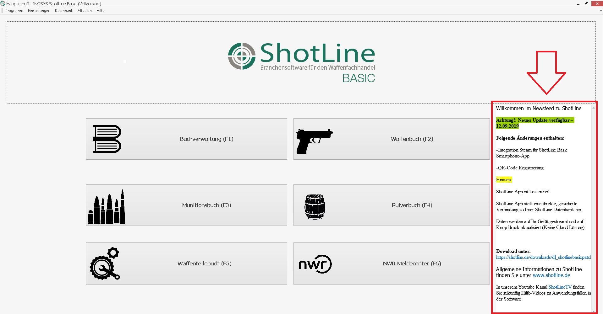 ShotLine Newsfeed
