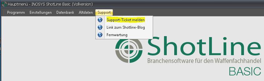 ShotLine Support